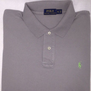 Polo by Ralph Lauren Gray XL Short Sleeve Shirt